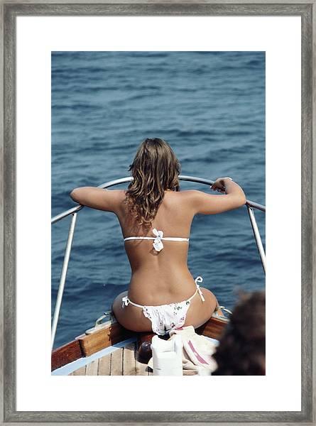 Amalfi Coast Framed Print by Slim Aarons