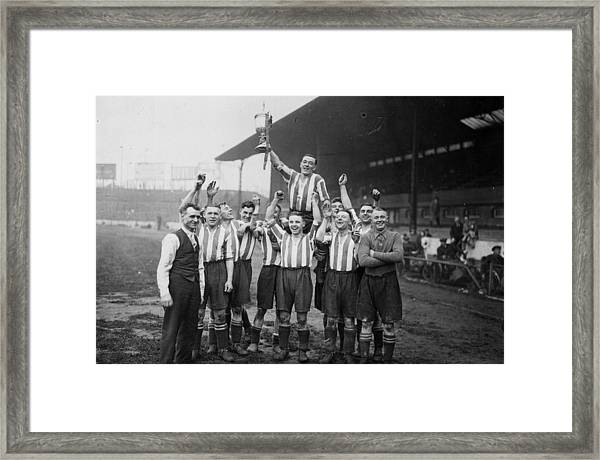 Amateur Cup Win Framed Print
