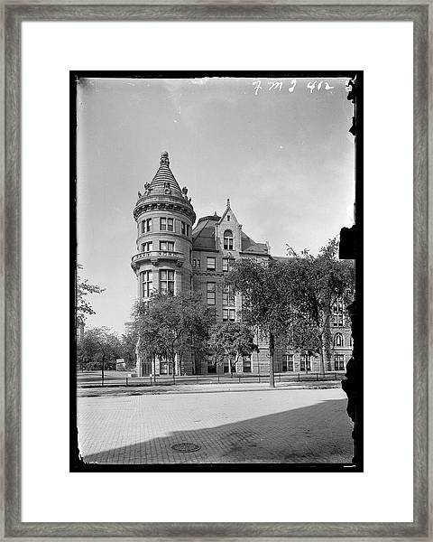 American Museum Of Natural History Framed Print