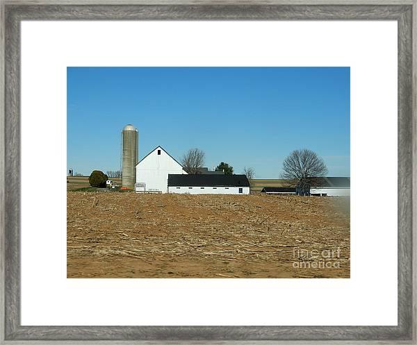 Amish Farm Days Framed Print