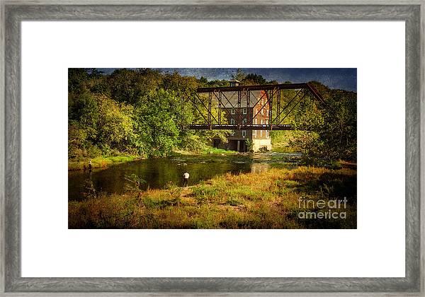 Ammerman Mill Framed Print