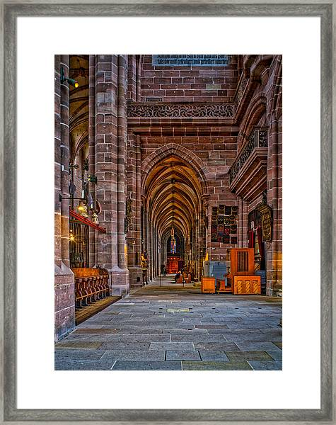 Amped Up Arches Framed Print