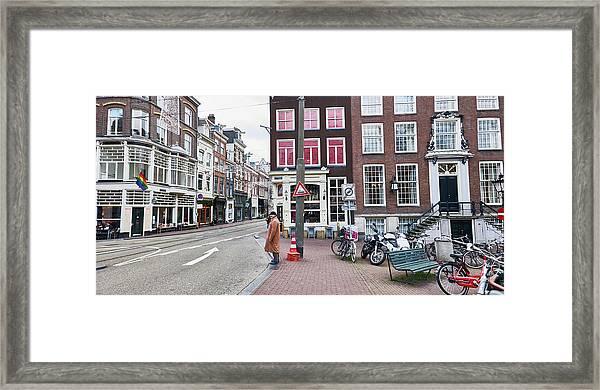 Amsterdam Pride Framed Print