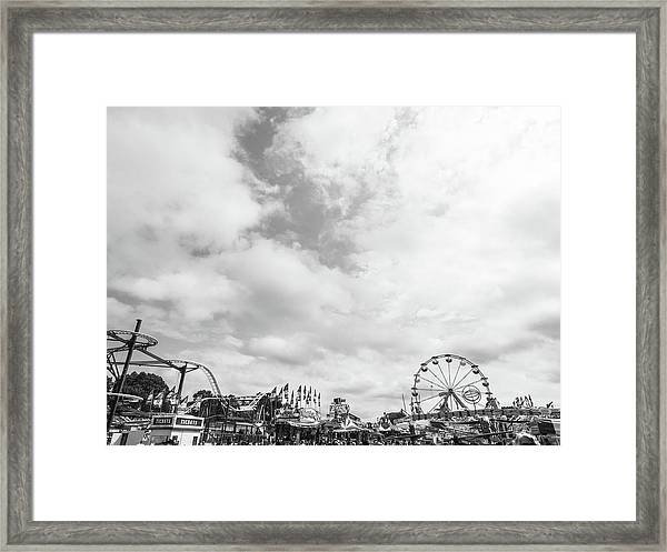 Amusements Framed Print