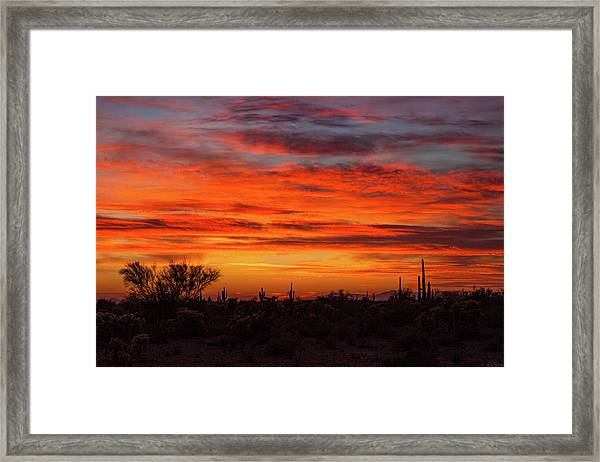 An Arizona Sky Framed Print