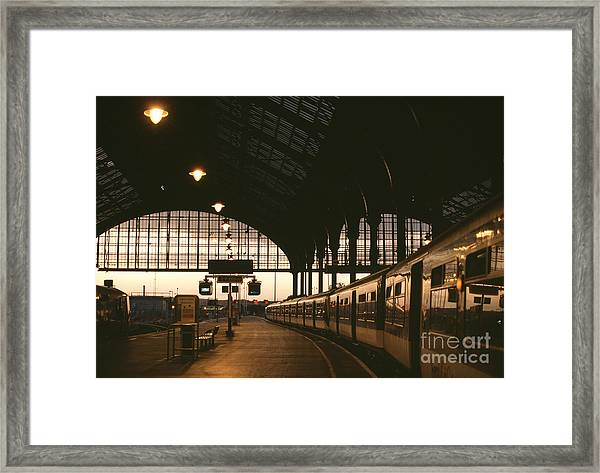 An Image Of Brighton Station Framed Print