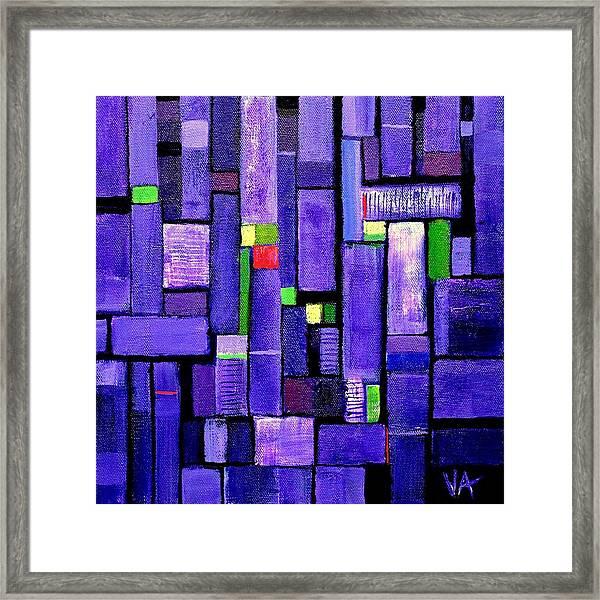 An Iris For The Master Framed Print