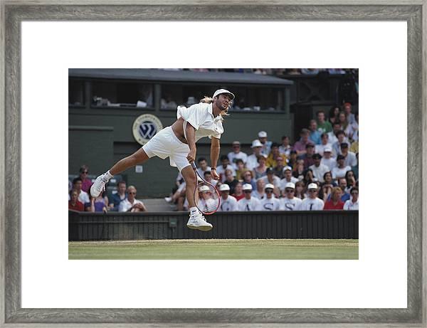 Andre Agassi Framed Print