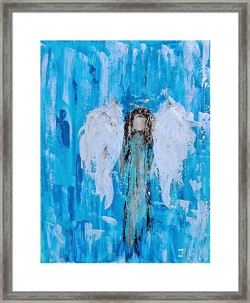 Angel Among Angels Framed Print