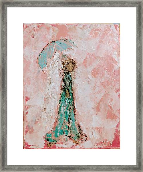 Angel By Your Side Framed Print