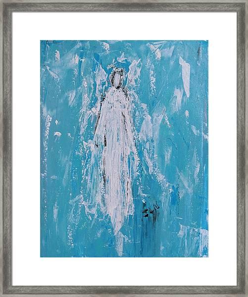 Angel For Grievance Framed Print