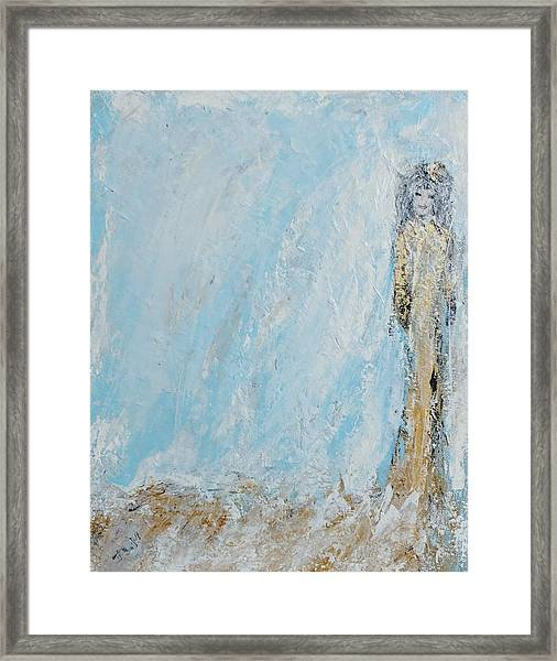 Angel For The New Year Framed Print