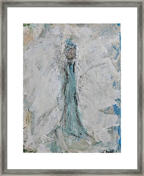 Angel Of Faith Framed Print