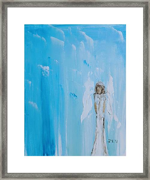 Angel Of Simplicity Framed Print