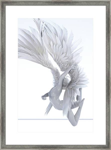 Angelic Arch Framed Print