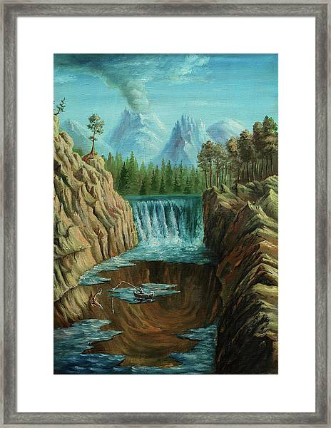 Angeln Framed Print by Pobytov