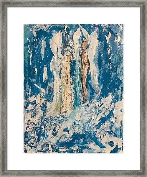 Angelic Angels Framed Print