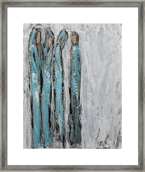 Angels For Forgiveness  Framed Print