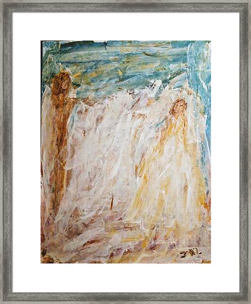 Angels Of Peace Framed Print