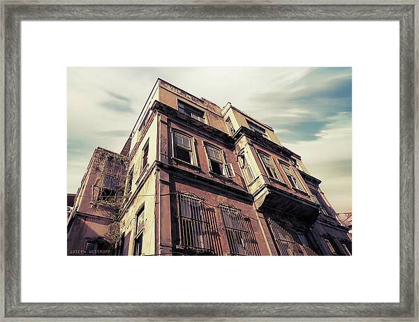 Angles Of Attrition Framed Print