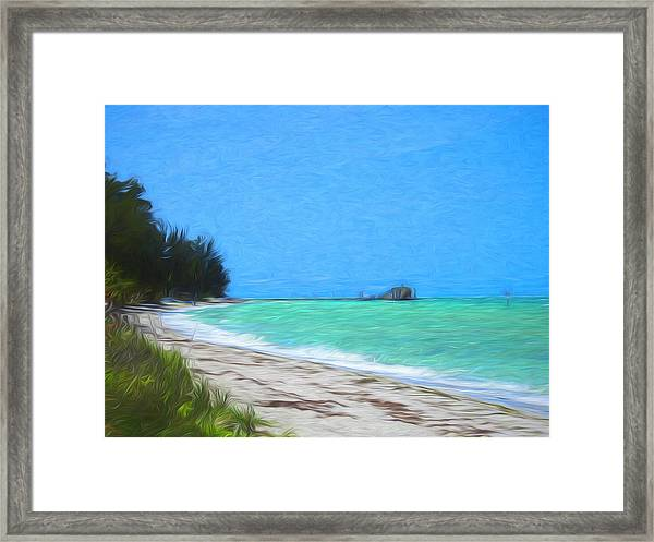 Anna Maria North Shore Framed Print