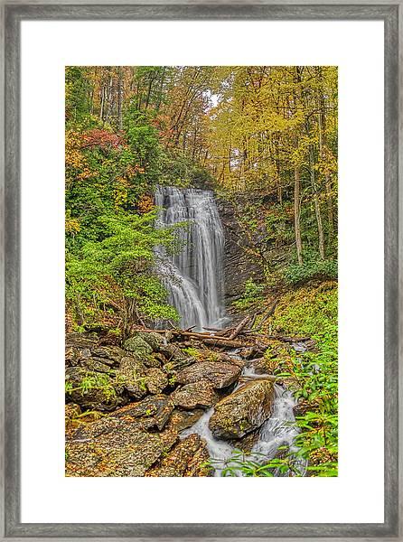 Anna Ruby Falls Left Framed Print