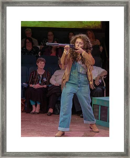 Annie Got Her Gun Framed Print
