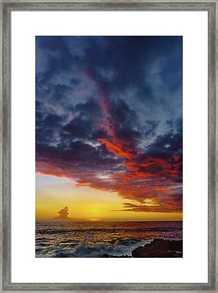 Another Colorful Sky Framed Print