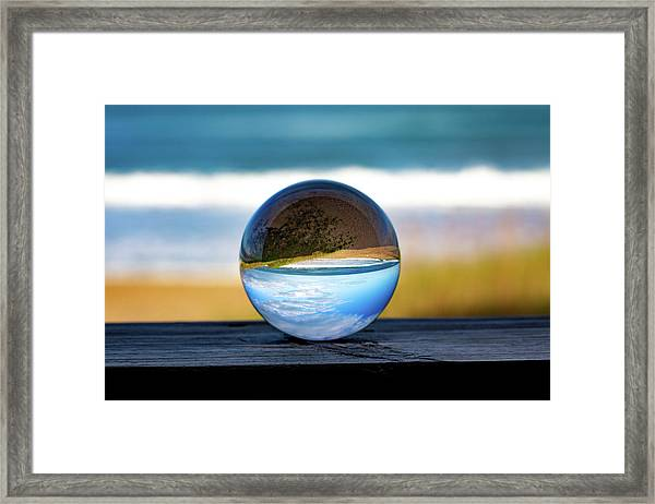Another Look Through The Lens Framed Print