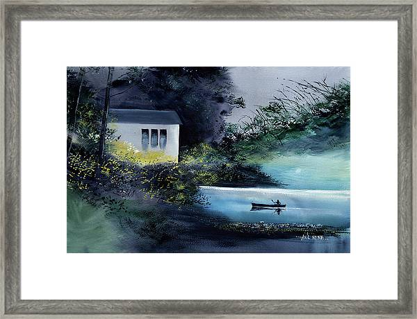 Another White House Framed Print