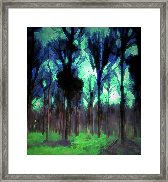 Another World - Forest Framed Print