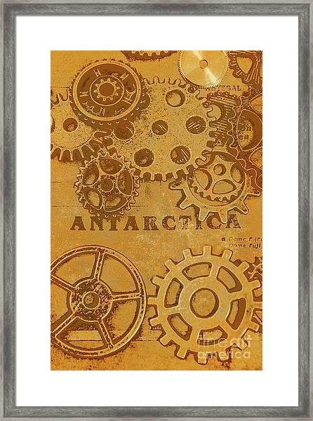 Antarctech Framed Print