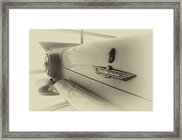 Antique Classic Car Vintage Effect Framed Print