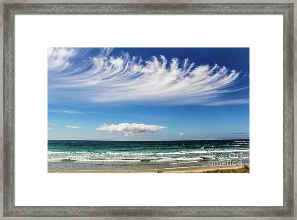 Aotearoa - The Long White Cloud, New Zealand Framed Print
