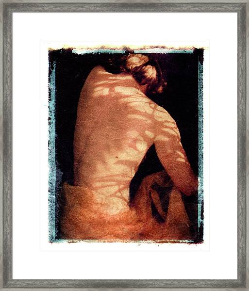 Framed Print featuring the mixed media Aphrodite II by Catherine Sobredo