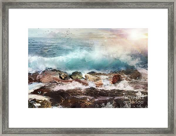 Aphros Framed Print