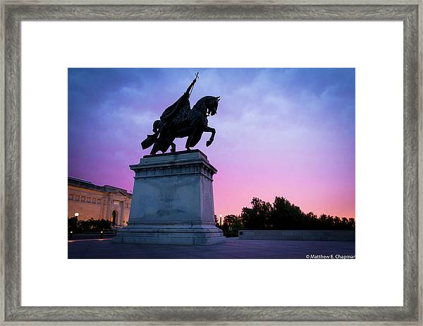 Apotheosis Of St. Louis, King Of France Framed Print