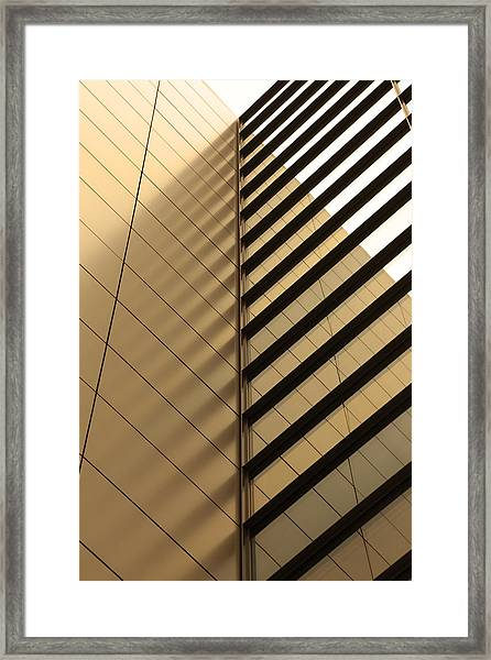 Architecture Reflection Framed Print