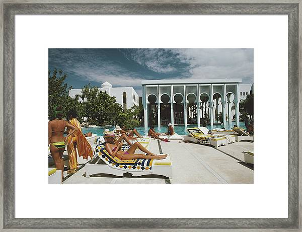 Armandos Beach Club Framed Print