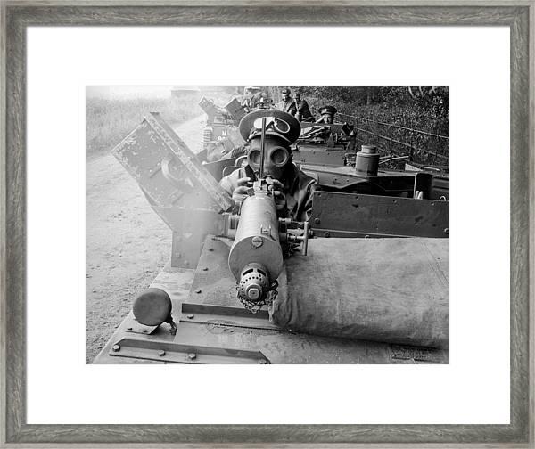 Army Convoy Framed Print