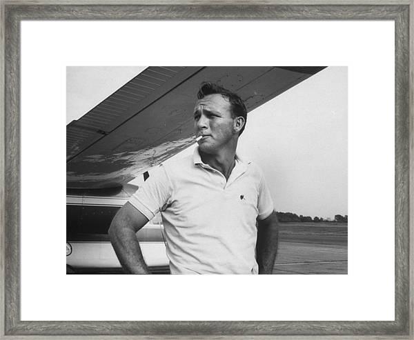 Arnold Palmer Framed Print by John Dominis