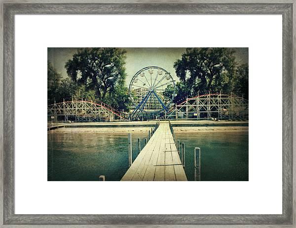Arnolds Park Framed Print