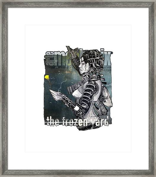 arteMECHANIX 1930 The FROZEN YARD GRUNGE Framed Print