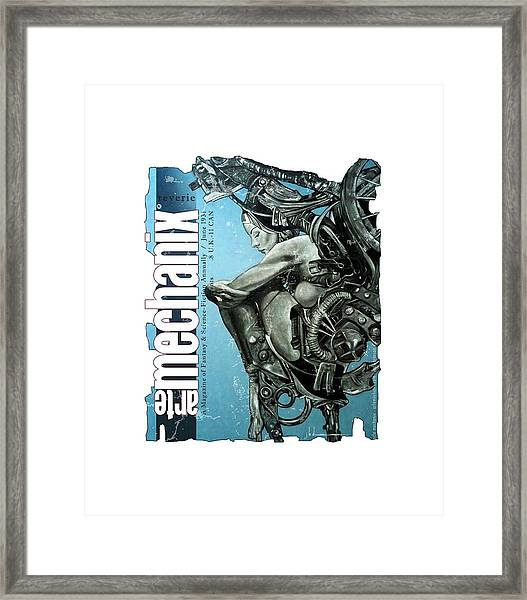 arteMECHANIX 1931 REVERIE  GRUNGE Framed Print