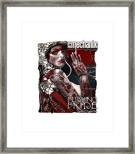 arteMECHANIX 1933 The BLUSHING BRIDE GRUNGE Framed Print