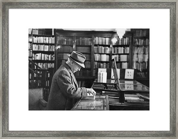 Arthur Rubinstein Framed Print