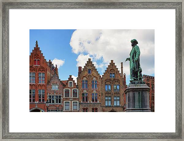As Eyck Can Framed Print