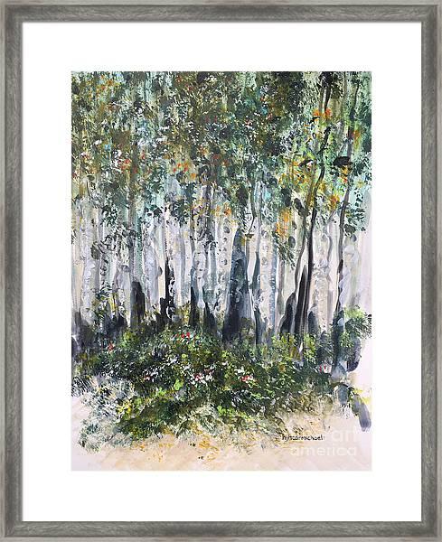 Aspenwood Framed Print