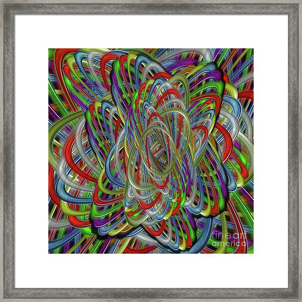 Astray Colors Framed Print