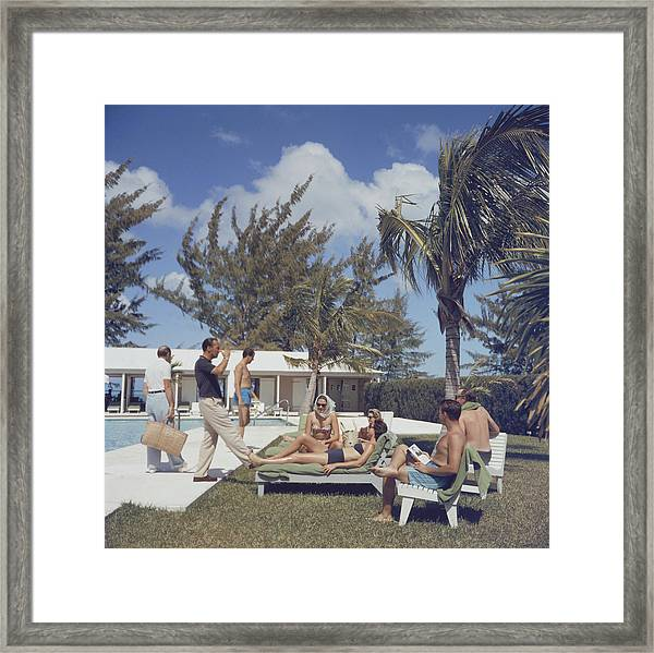 At Lyford Cay Framed Print